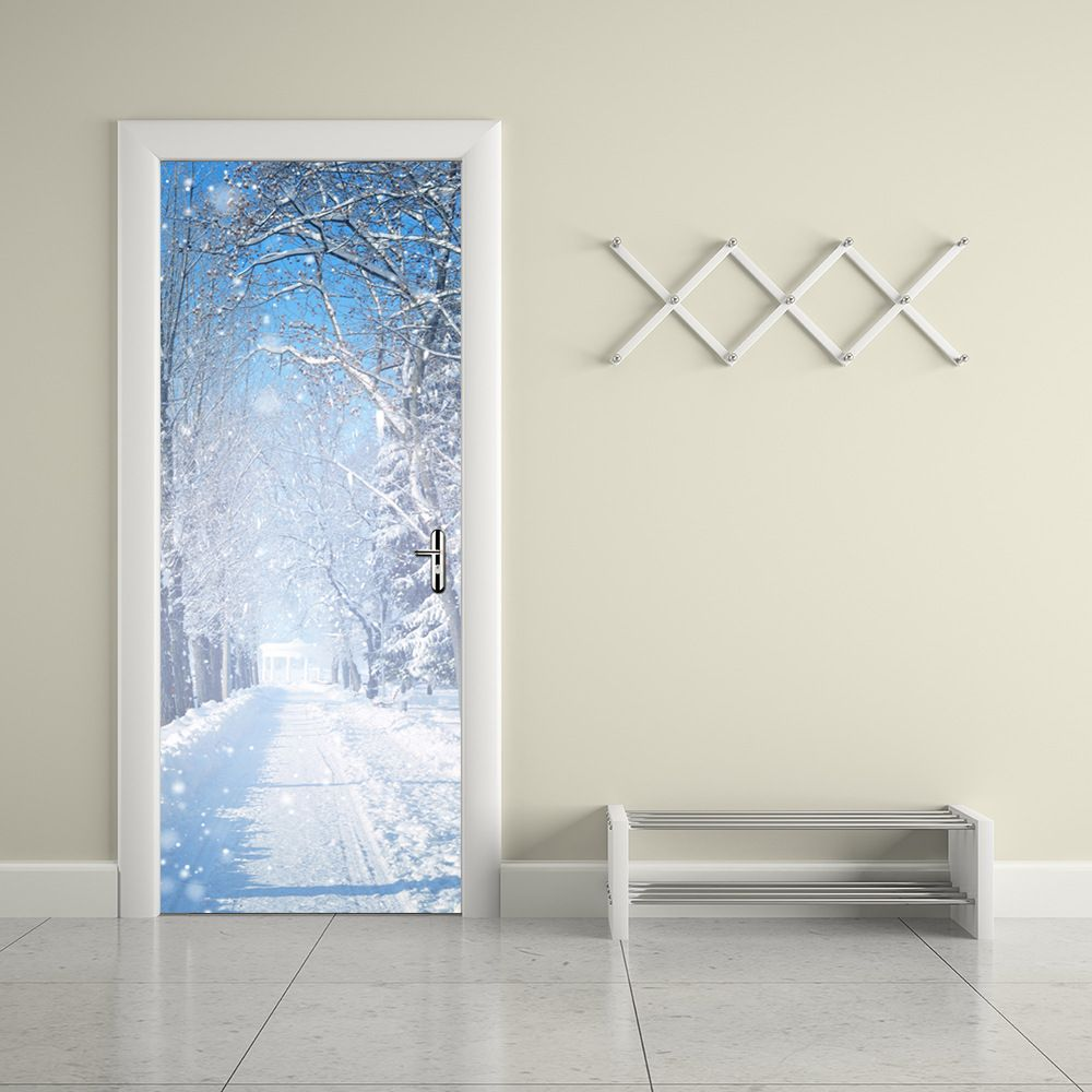Jermyn pcsset wall stickers diy winter mural bedroom landscape