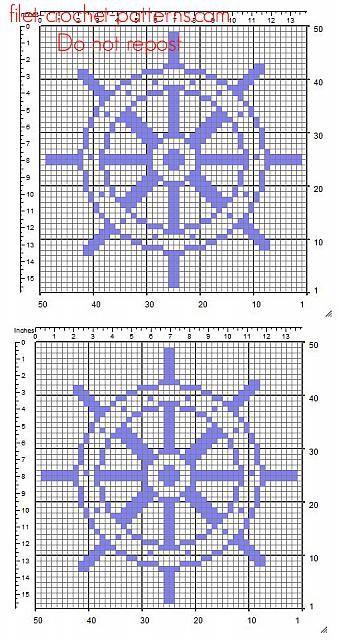 A Rudder Free Simple Crochet Filet Pattern Insert Free