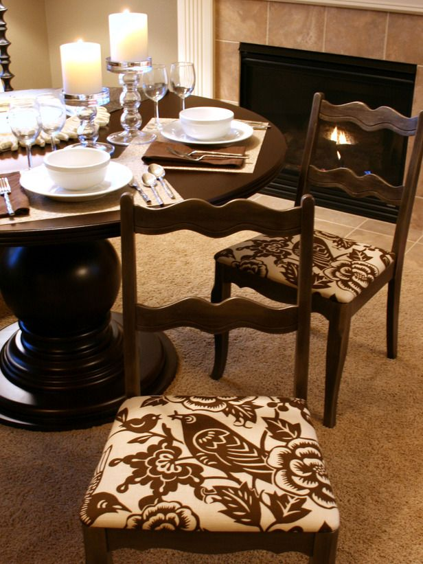 How To Upholster A Dining Room Chair Stunning How To Recover A Dining Room Chair  Diy Chair Room And Dining Design Ideas