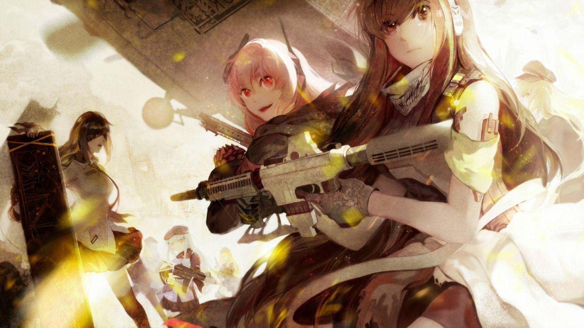 Pin On Soldier Anime Girls