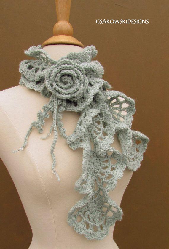 Bufanda de lana Victoria-Seaspray | scarfs | Pinterest | Bufanda de ...