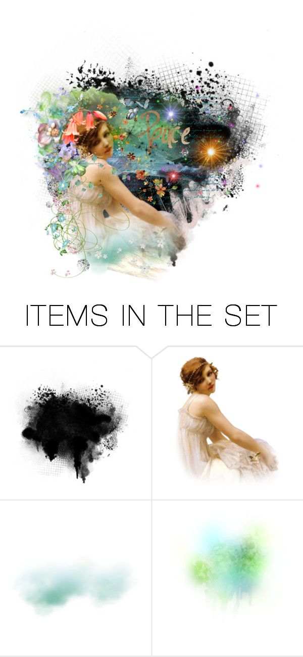 """""""Peace"""" by hippiechick63 ❤ liked on Polyvore featuring art"""