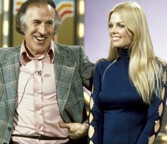 The Generation Game with Bruce Forsyth and Andrea Redfern.