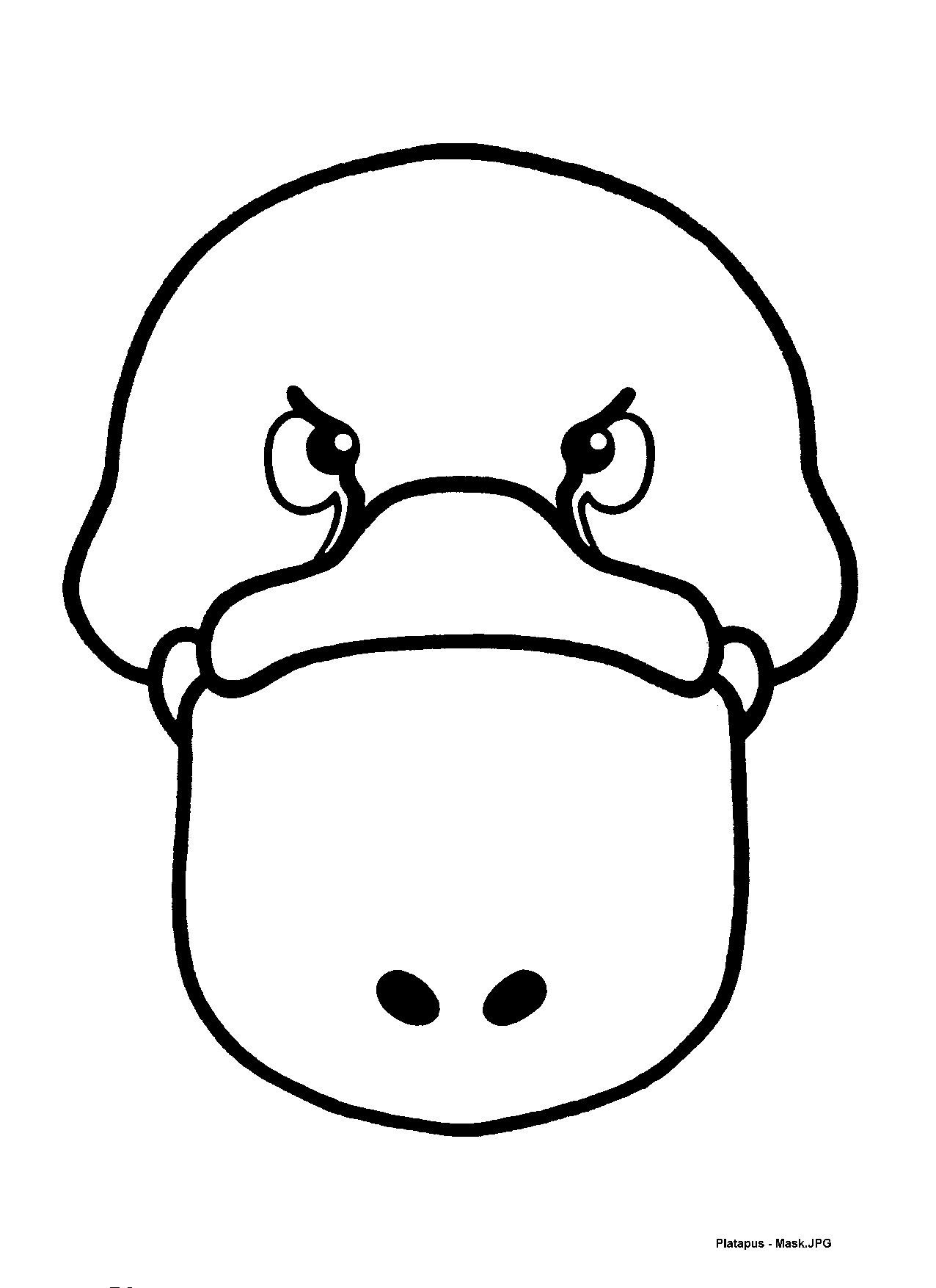 Mask Templates For Australian (u0026 Other) Animals,