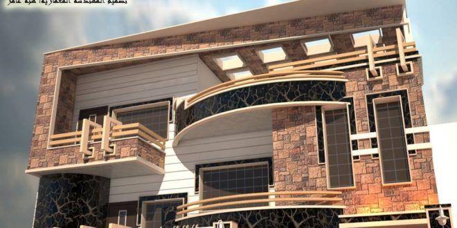 واجهات فلل واجهات منازل الجزء الثاني مؤسسة فهد المسيليم لمقاولات العامه للمباني House Styles House Design Facade