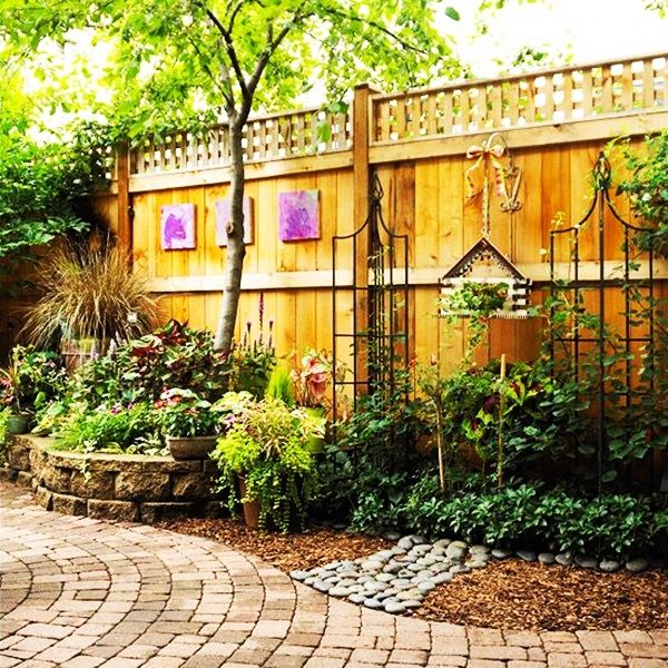 40 creative garden fence decoration ideas fence for Better homes and gardens fence ideas