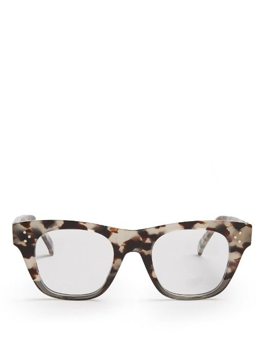 c183233bafd31 Céline Sunglasses Round-frame acetate glasses