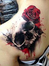 Photo of 80 Frightening and Meaningful Skull Tattoos – nenuno creative  Skull Tattoos 43 …
