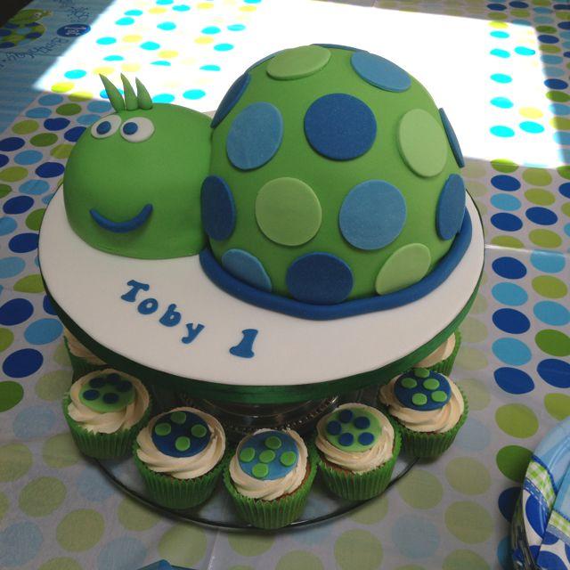 Fine First Birthday Turtle Cake 1St Birthday Cakes 3Rd Birthday Funny Birthday Cards Online Alyptdamsfinfo