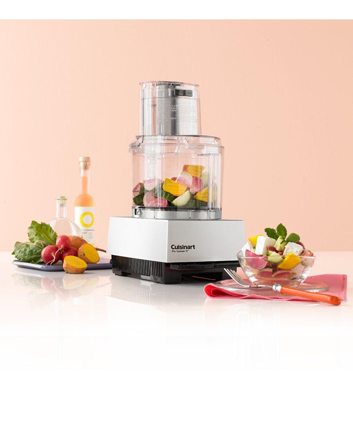 Cuisinart Dlc 8sbcy Pro Custom 11 11 Cup Food Processor Reviews Small Appliances Kitchen Macy S Food Processor Recipes Food Processor Reviews Food