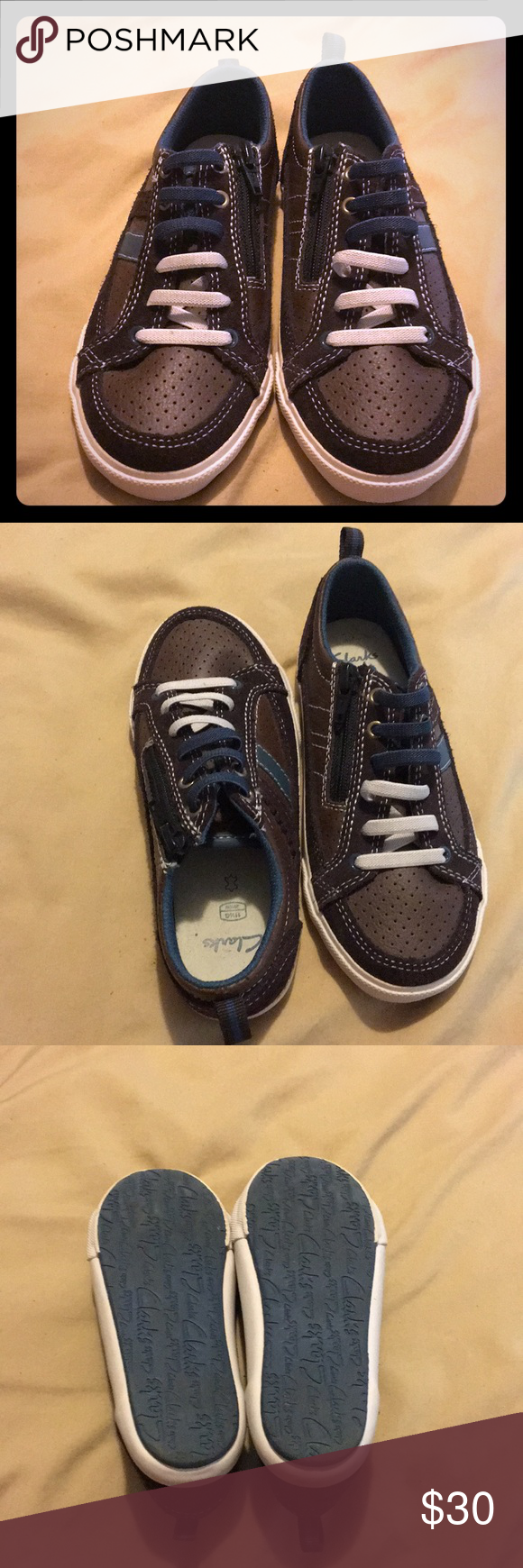 ad9887f459ebc Clarks kids shoes size 11 1/2 Leather Upper USA size 11 1/2 great condition Clarks  Shoes