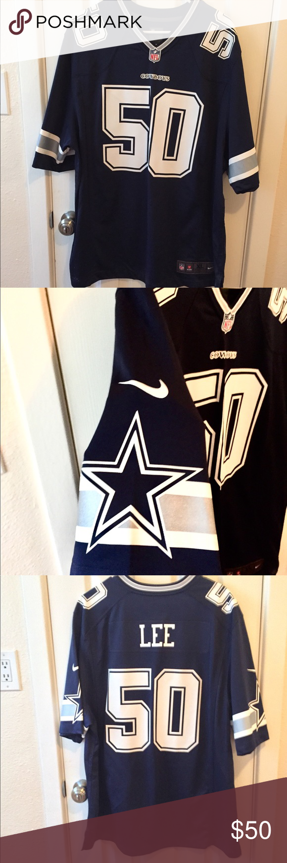 online store 77ea0 1c0c3 Dallas Cowboys Sean Lean Authentic Jersey Brand New Jersey ...