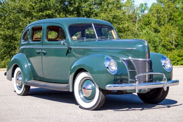 1940 Ford 2 Door Sedan 1940 Ford Ford Classic Cars