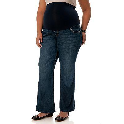 Oh Baby By Motherhood Secret Fit Belly Bootcut Jeans Women S Plus Maternity Jeans Women Jeans Bootcut Jeans