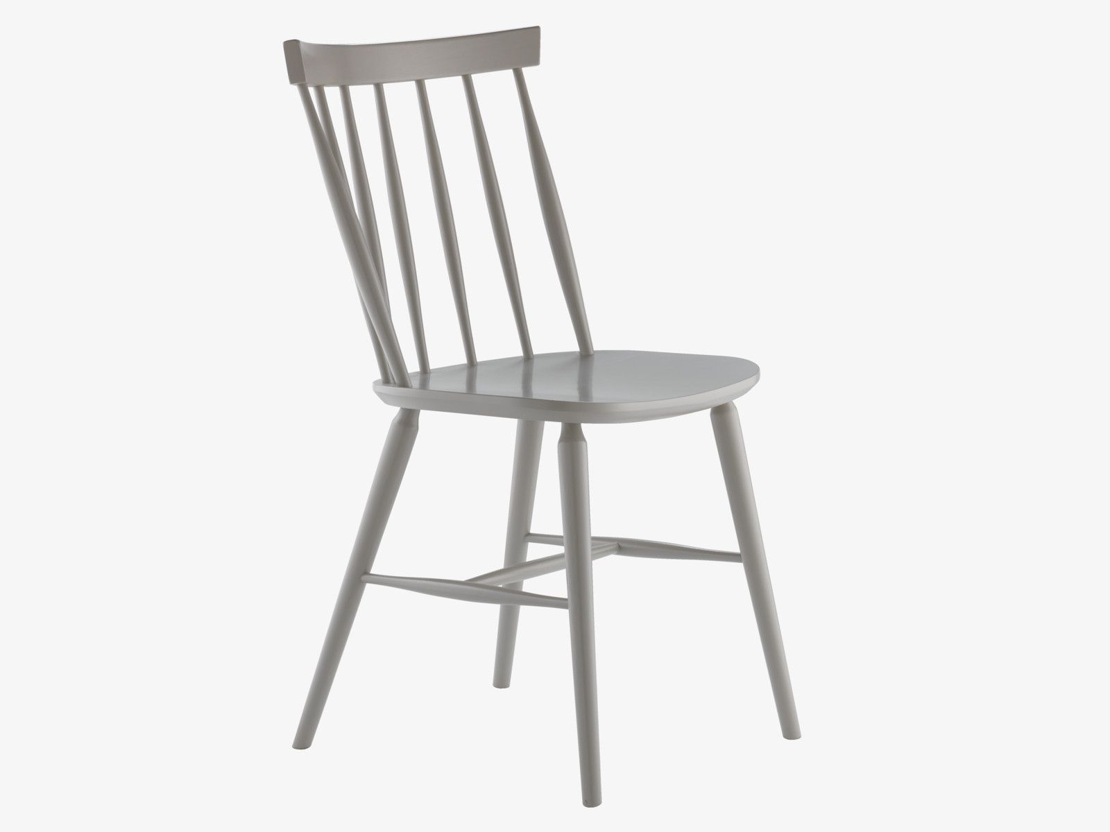 Talia Greys Wood Grey Dining Chair Habitatuk A Contemporary Update On The Traditional Spindle Back