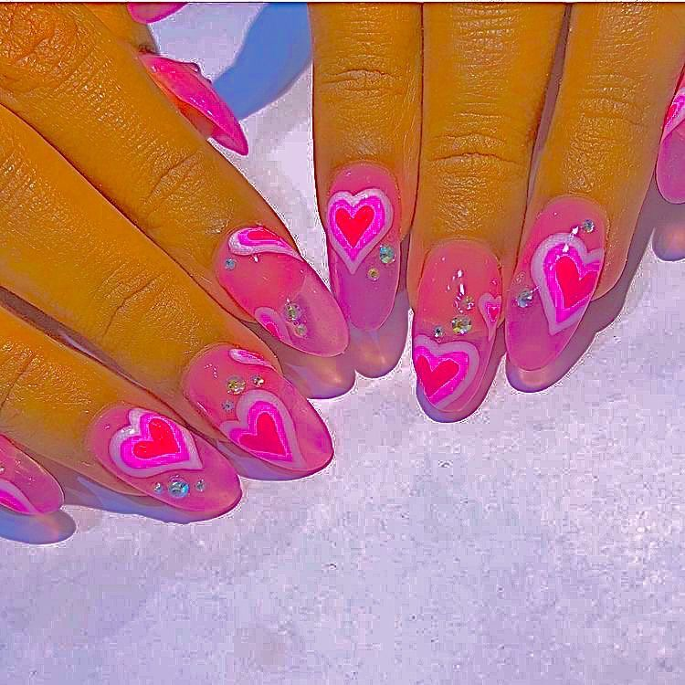 Pin By Age Of Akuarius On Manikyur In 2020 Ombre Acrylic Nails Oval Nails Designs Nails For Kids