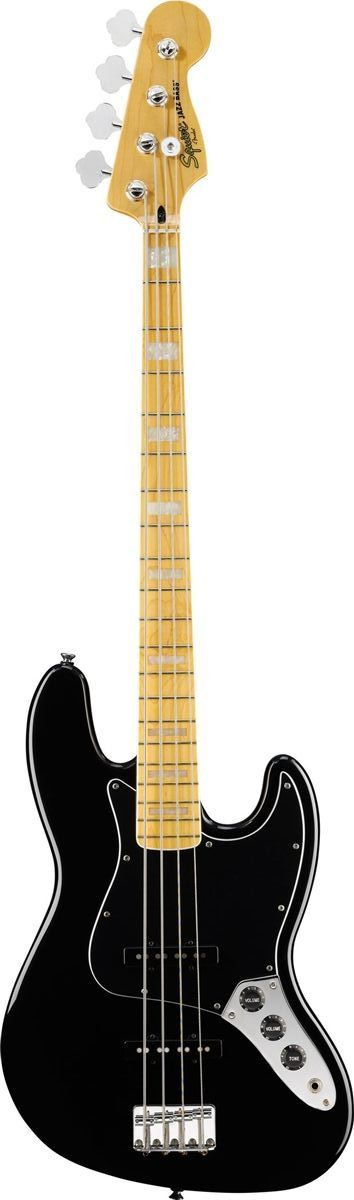 Squier Vintage Modified 77 Jazz Bass Squier S Vintage Modified Jazz Bass 77 Returns You To The Age Of Funk And The Dawn Of Punk Wit Guitar Bass Guitar Squier