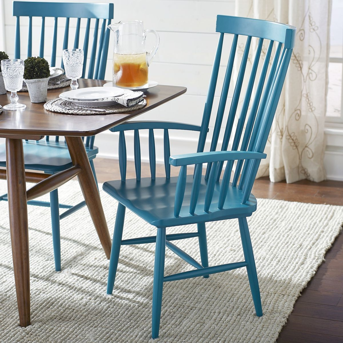 Marcel Armchair - Turquoise | Pier 1 Imports | Dining | Pinterest ...