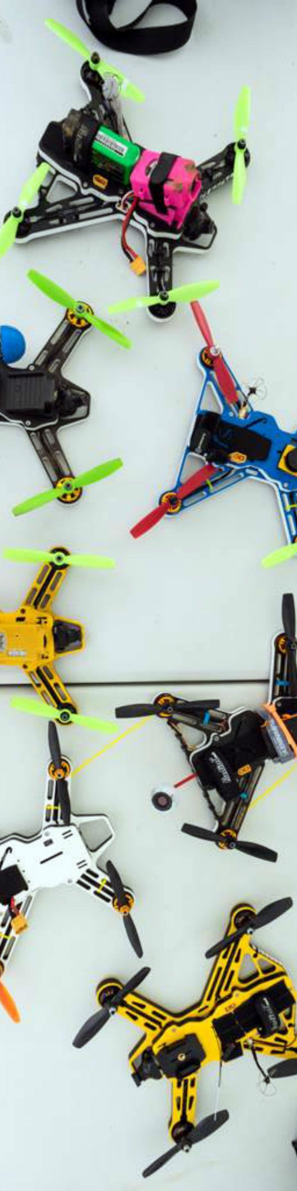 Fossils Stuff was the first UK racing drone manufacturer