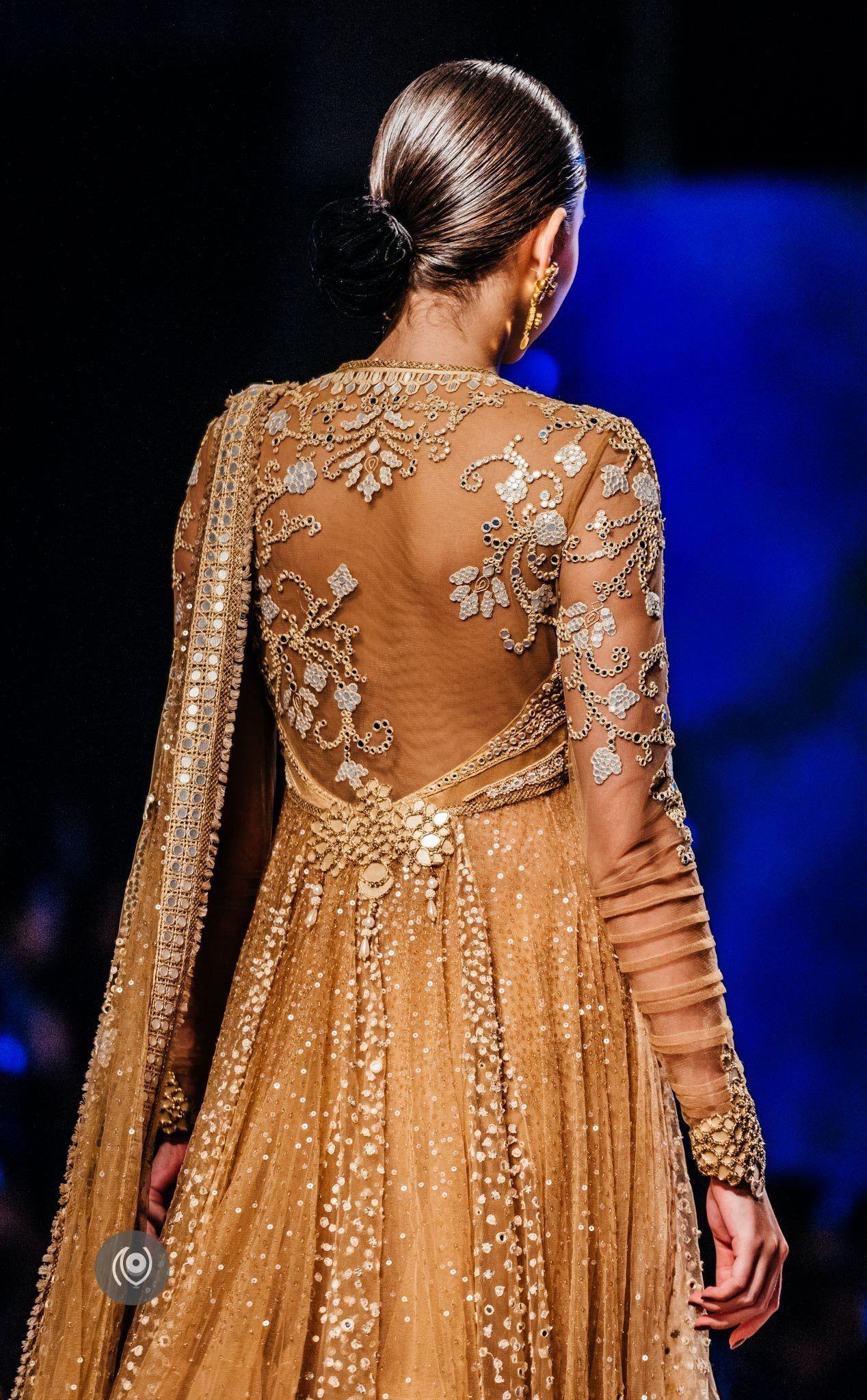 Saree for fashion show tarun tahiliani bmw india bridal fashion week  eastern apparel