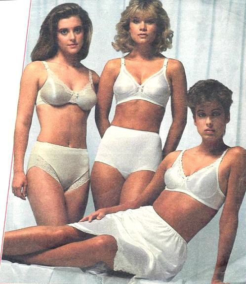 138eca3246f5 Sears ad early 80's The blonde in the middle is wearing Sears V.I.P. Very  Impressive Panties brand of nylon briefs.