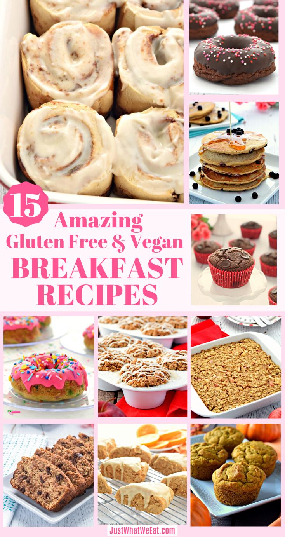 15 Amazing Gluten Free And Vegan Breakfast Recipes Just What We Eat Gluten Free Recipes For Breakfast Allergy Free Recipes Vegan Breakfast Recipes