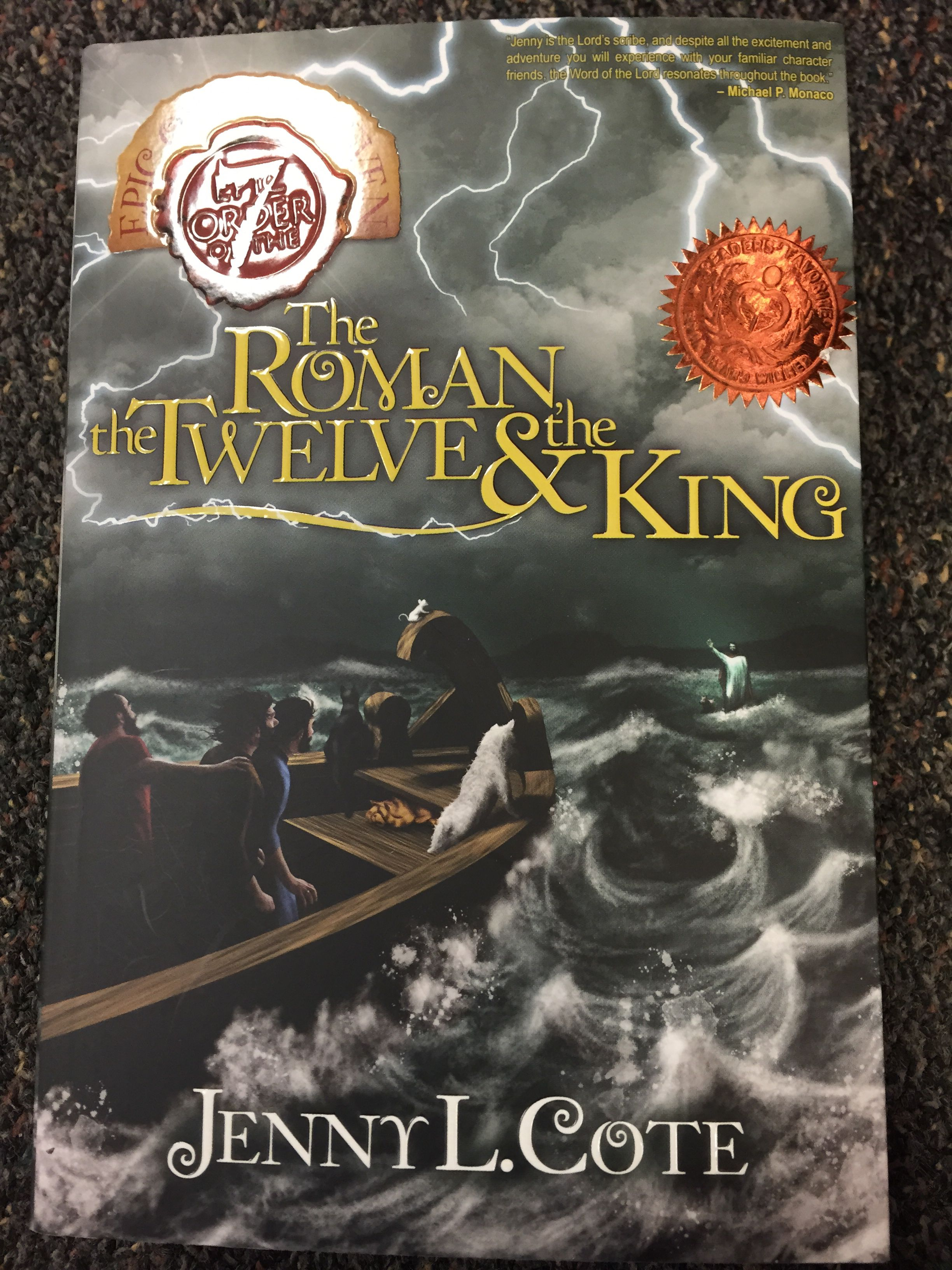 Epic order of the seven series by Jenny Cote