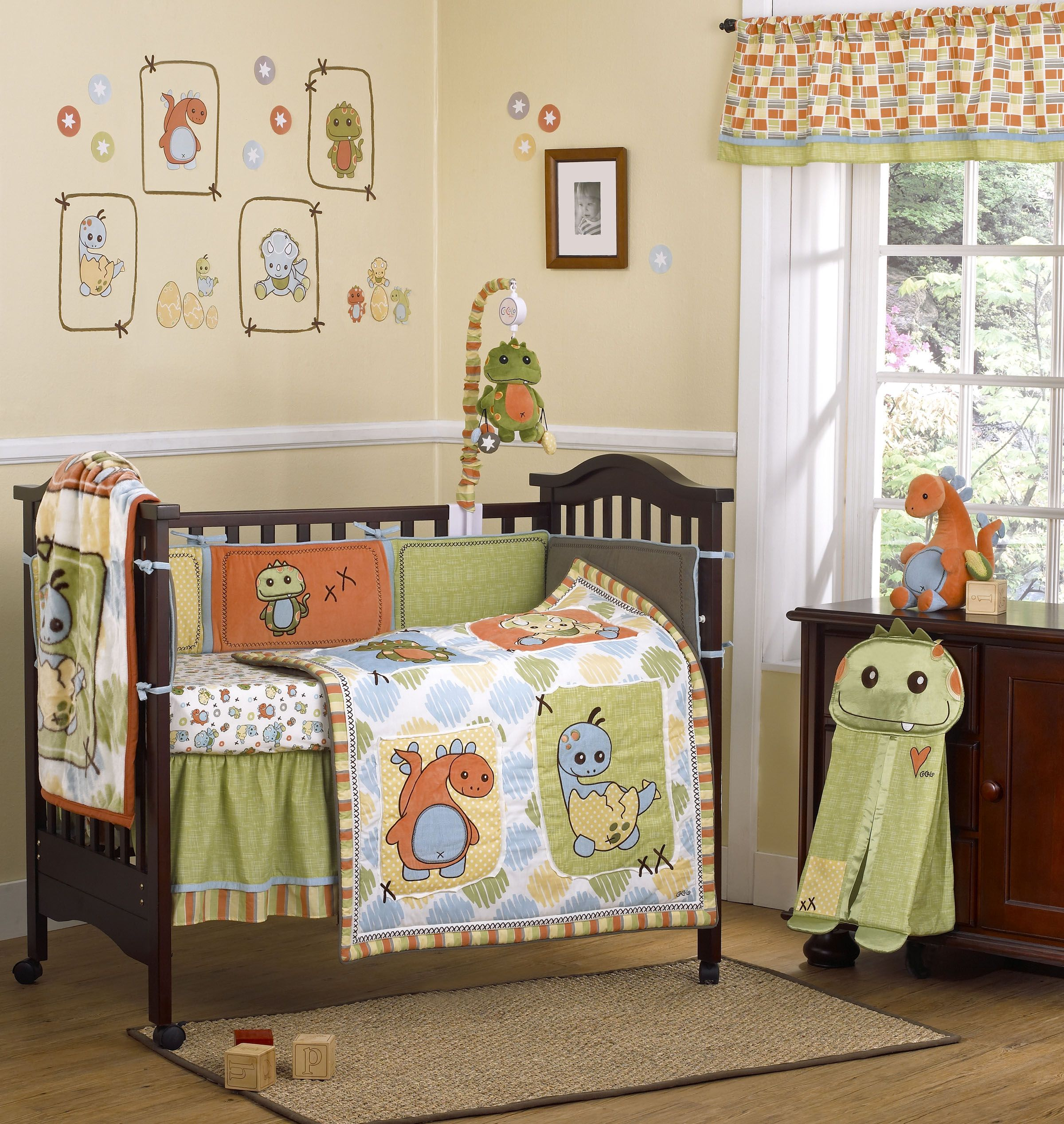 Dinos at Play by CoCaLo Baby infant baby nursery crib bedding
