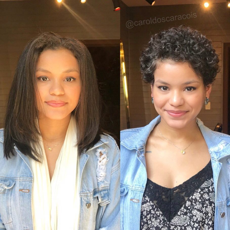 16Women Who Embraced Their Natural Hair After Lot