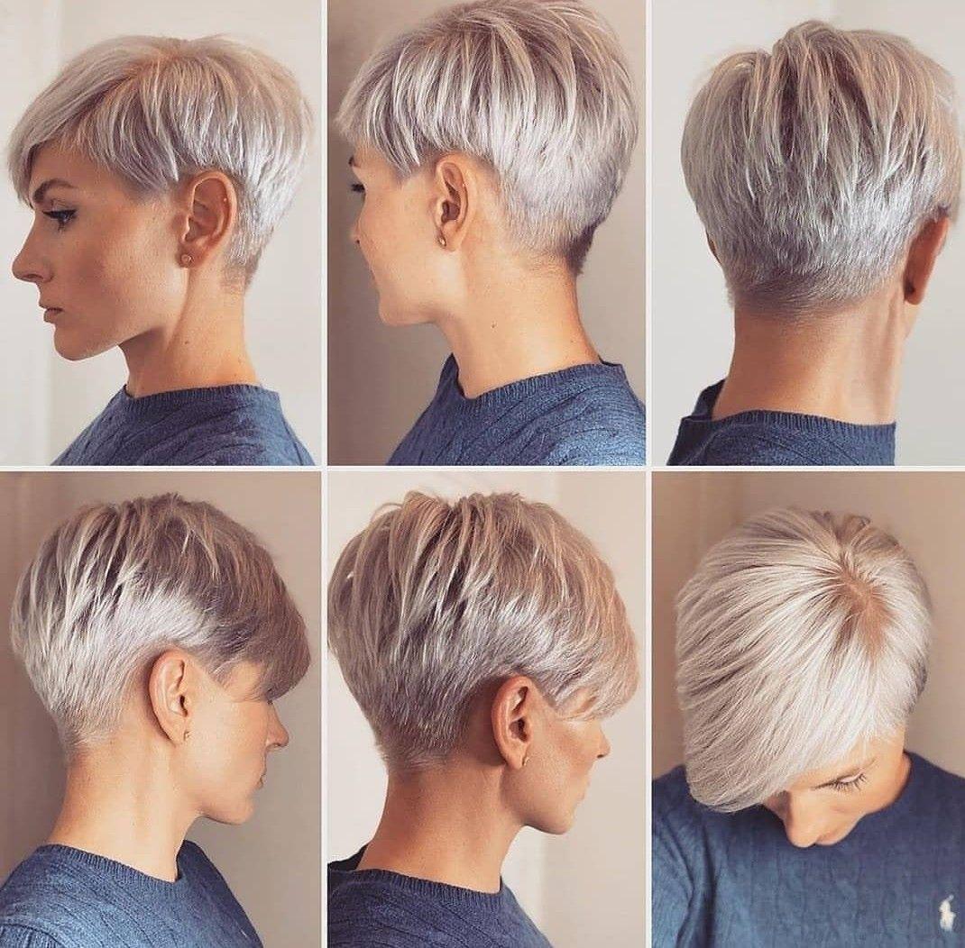 Kurze haare frisuren frauen