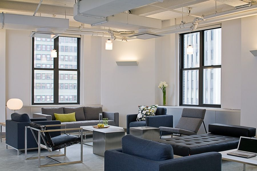 New York City Office Interior Design And Space Planning Firm Kati Curtis  Design Provided Corporate Interior Design Services For Times Square  Headquarters