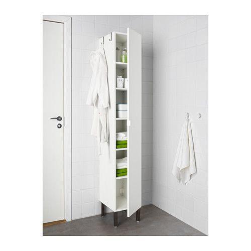 LILLÅNGEN Hochschrank 1 Tür, weiß | Hochschrank, Ikea und Türen