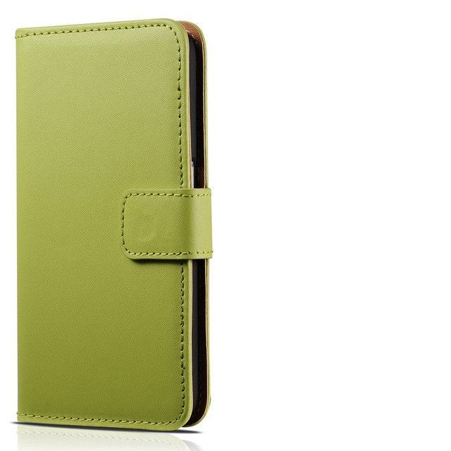 6S/6S Plus Flip Genuine Leather Wallet Case For iPhone 6 6S 4.7 inch Phone Bag Cover For iPhone 6S Plus 5.5 With Card Holder