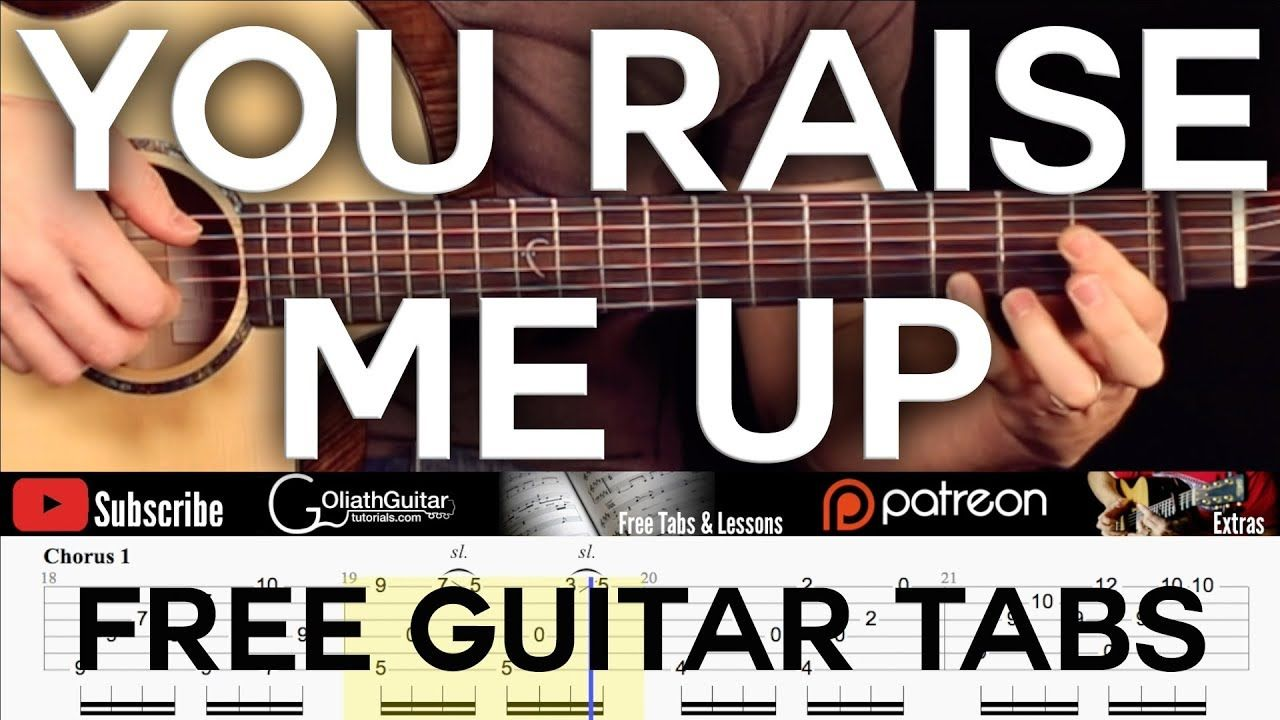 You Raise Me Up Free Guitar Tabs YouTube