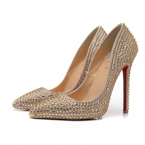 b66f62a71118 Christian Louboutin Crystal Wedding Shoes