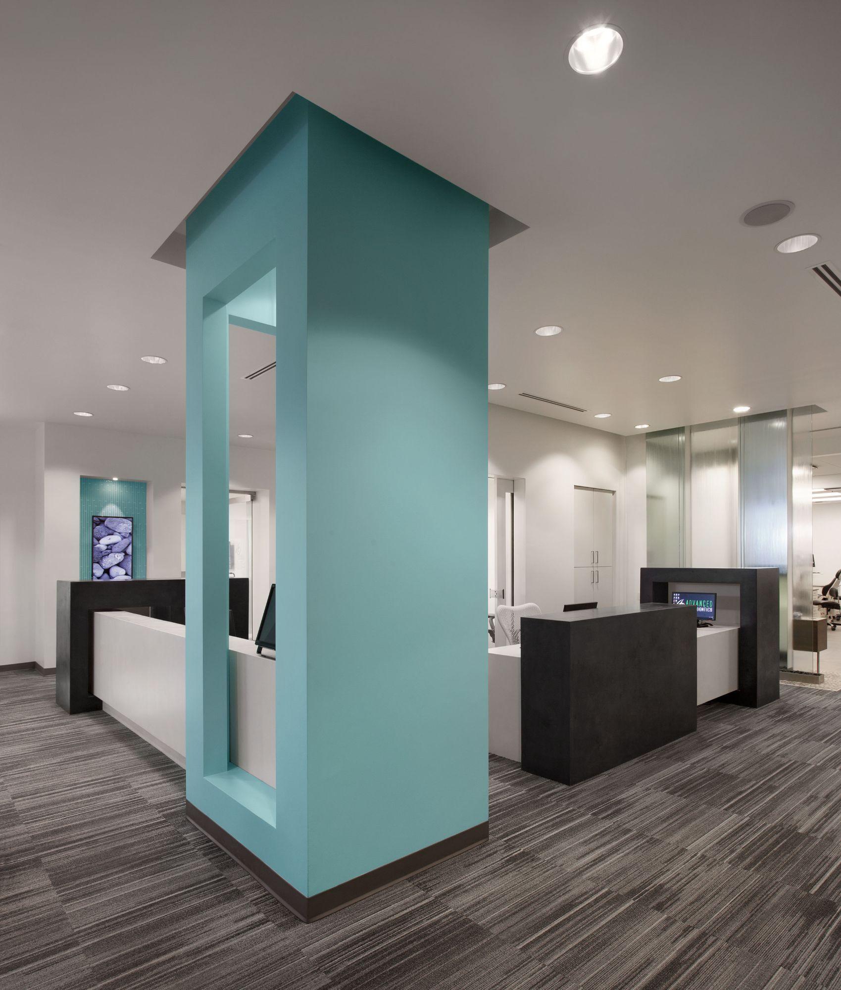 Advanced Orthodontics Reception Desk Store Ideas