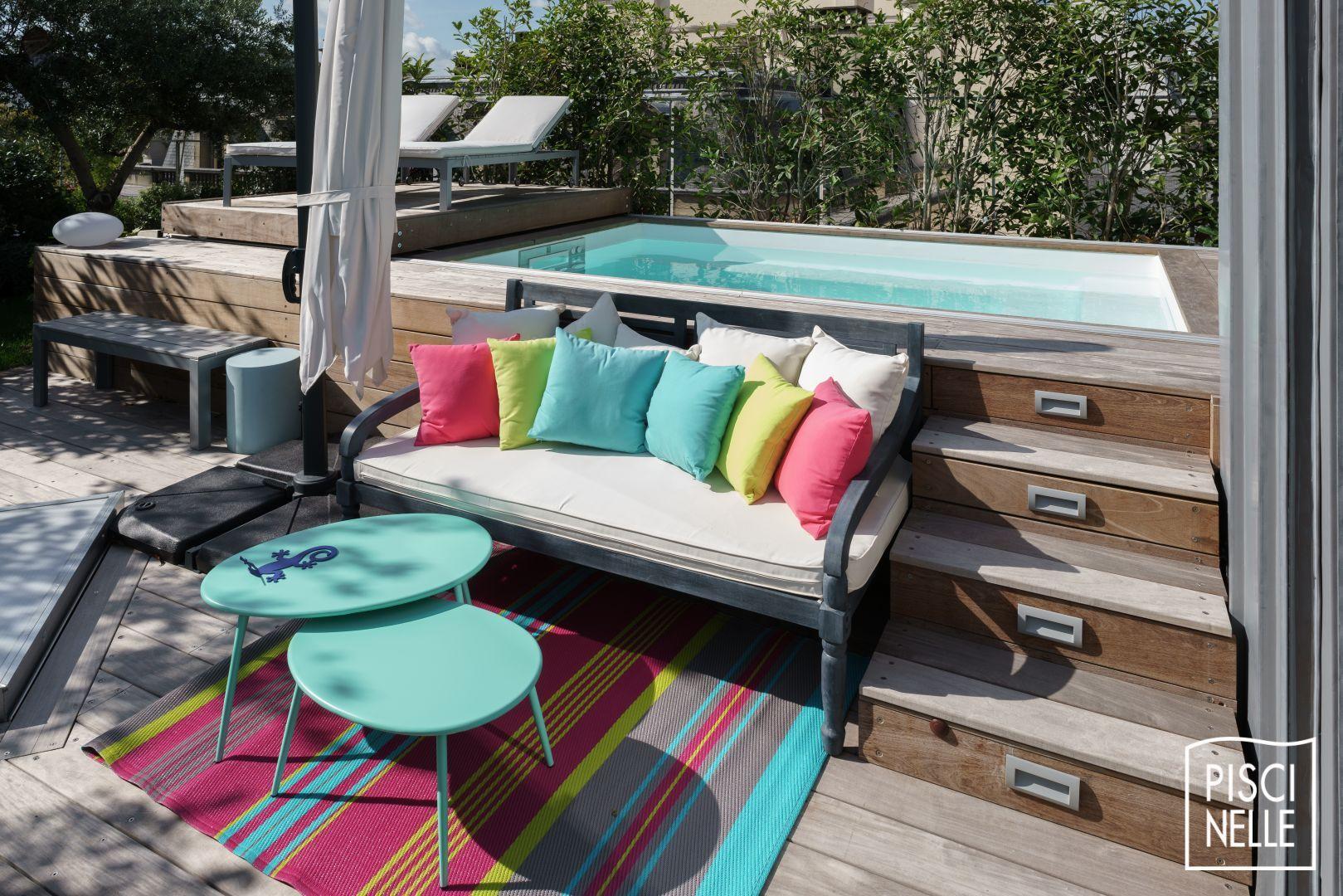 Une piscine sur un toit terrasse à Paris Piscinelle in 2020