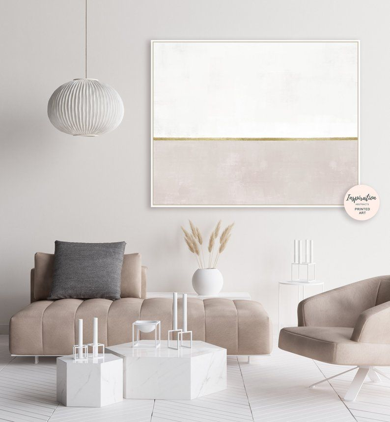 White And Beige Abstract Painting Neutral Wall Art Etsy Living Room Art Neutral Wall Art Large Framed Wall Art
