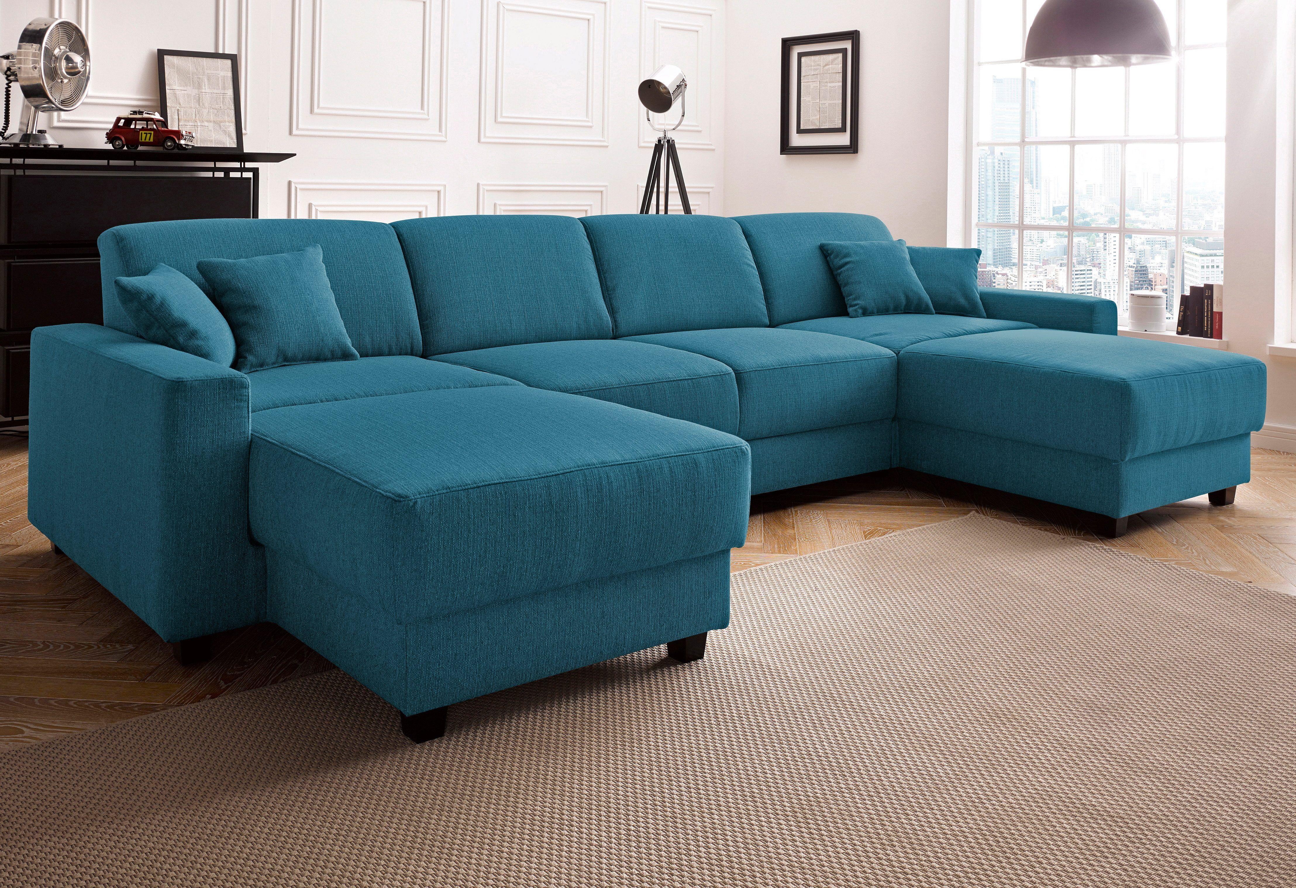 wohnlandschaft grün, ohne relaxfunktion, fsc®-zertifiziert, Wohnzimmer dekoo