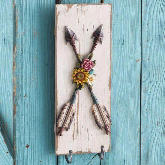 Blooming+Arrow+Wall+Hook #decorationaccessories