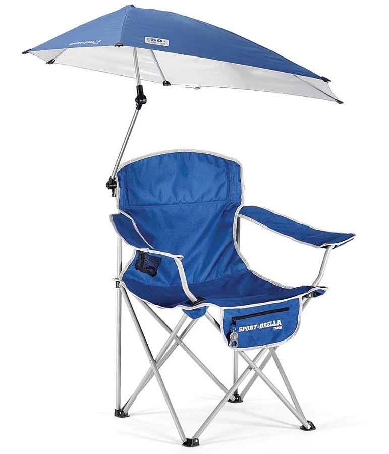 SKLZ SportBrella Folding Chair with Umbrella Umbrella