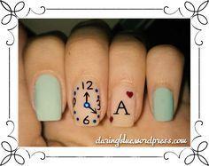 alice in wonderland inspired nail art  nail art disney