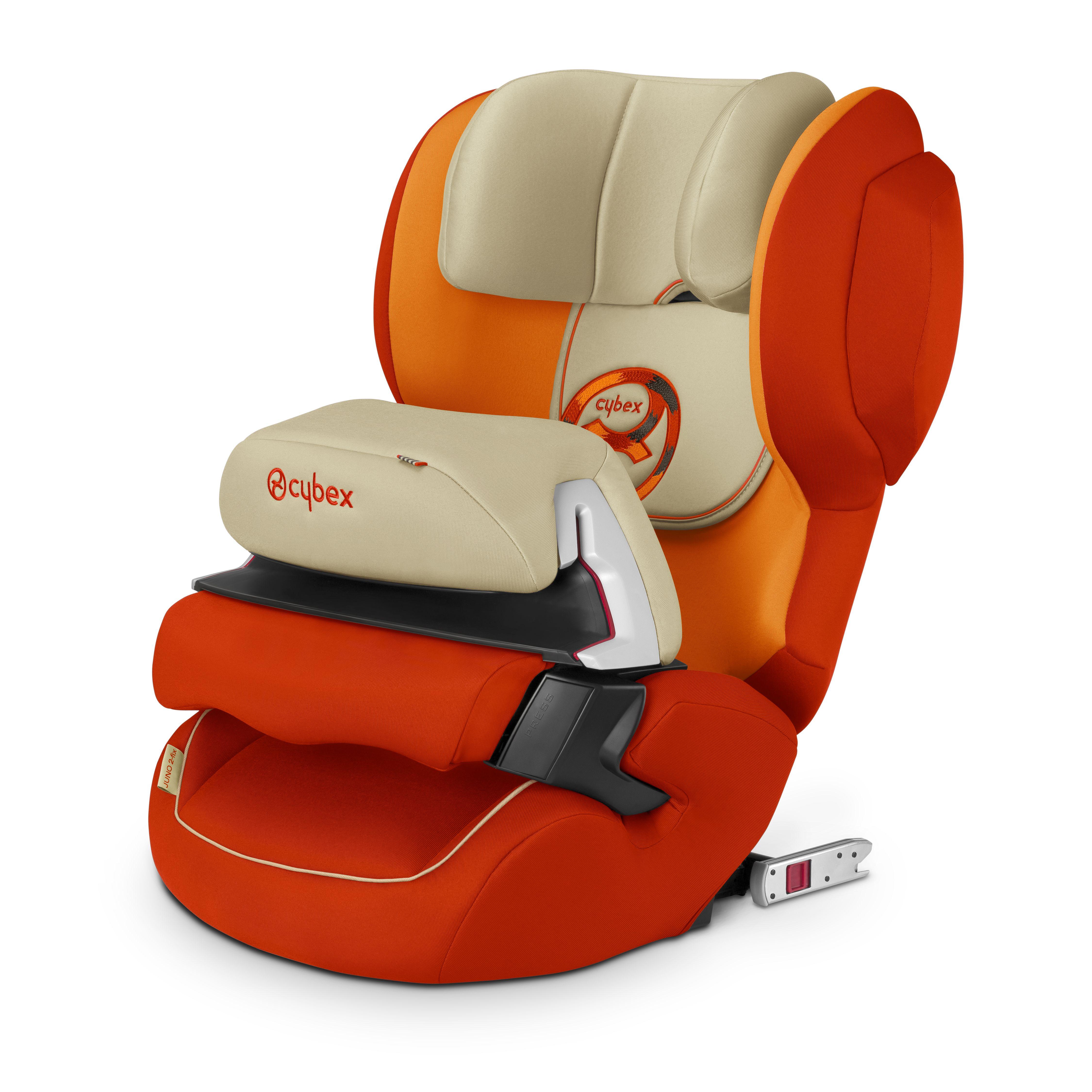 Cybex Juno 2 Fix Autumn Gold Car Seats Child Car Seat Baby Car Seats