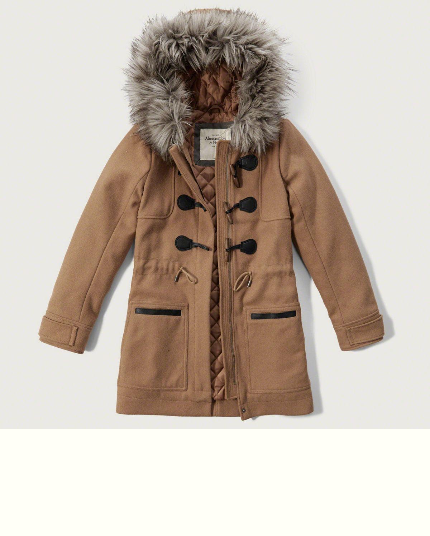 Wool Duffle Jacket [ 1500 x 1200 Pixel ]