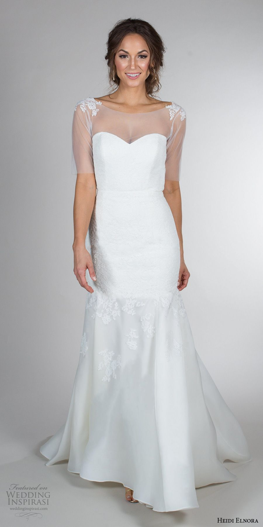 Wedding dress with bow on back  Heidi Elnora Fall  Wedding Dresses u ucAnniversaryud Bridal