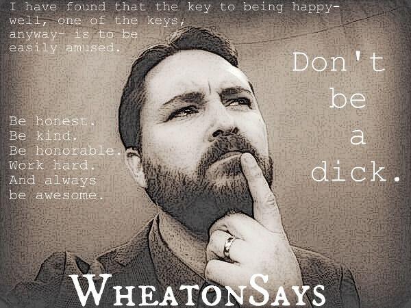 WIL WHEATON dot TUMBLR : Photo