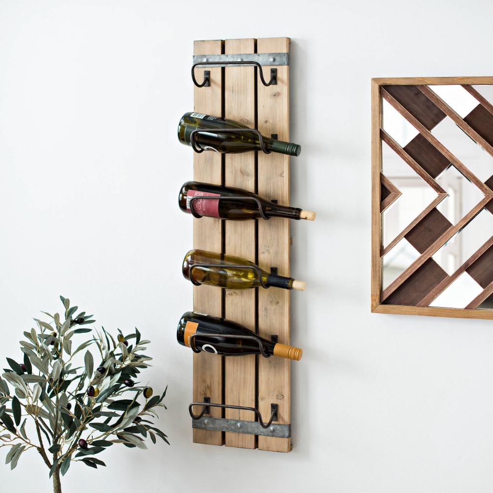 Wooden Wine Bottle Wall Rack Wine Bottle Wall Wine Rack Wall Wine Rack