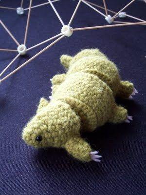 Tardigrade (Little Water Bear) Amigurumi   Pinterest