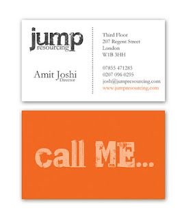 Biz Card for Jump Resourcing