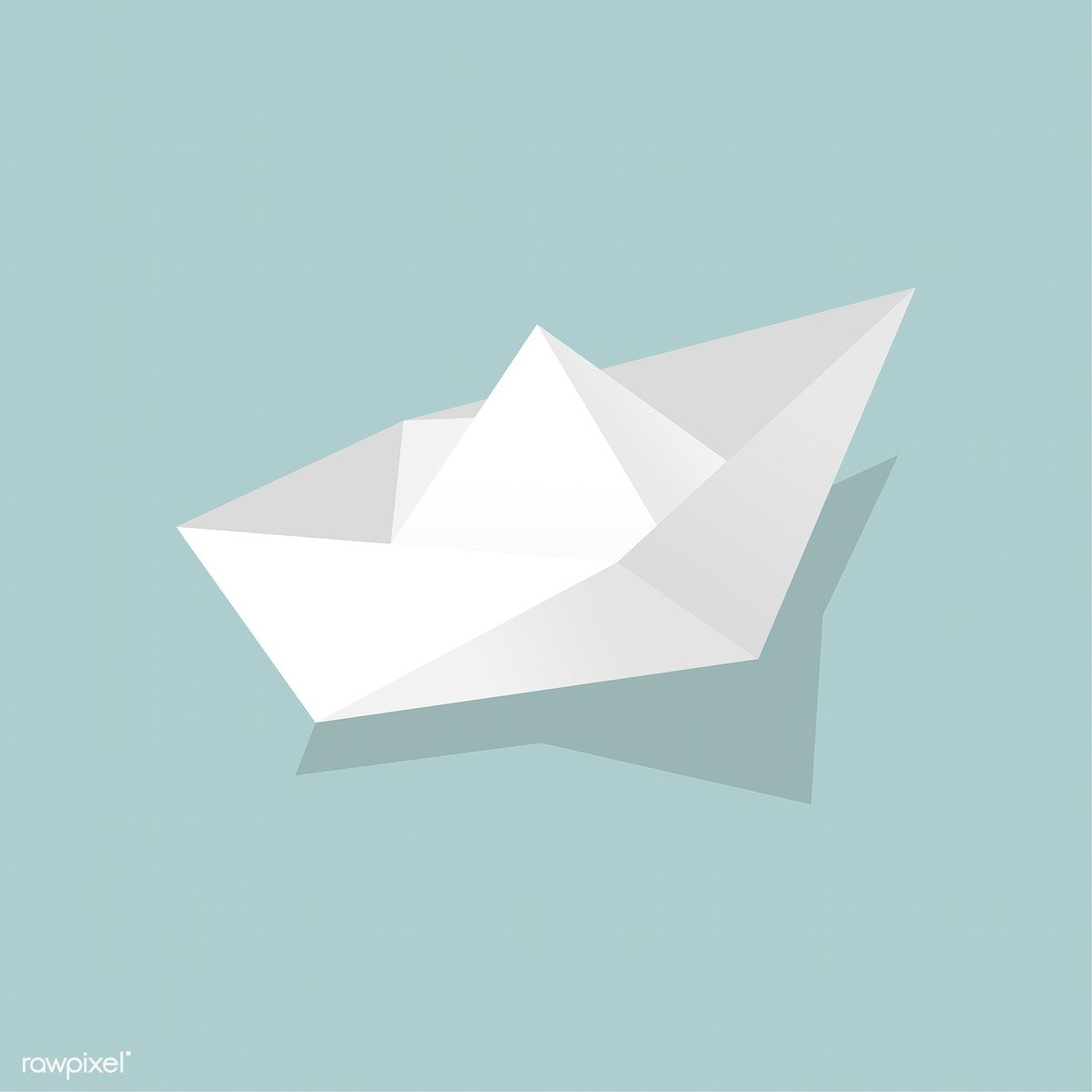 Vector Of Paper Boat Icon Free Image By Rawpixel Com Paper Boat Boat Icon Boat Illustration